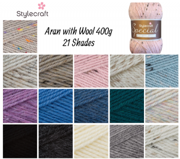 Stylecraft Special Aran with Wool 400g
